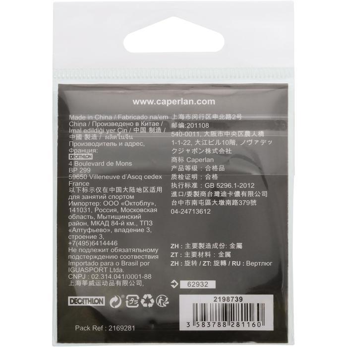 AGRAFE PÊCHE QUICK SNAP INOX X10 - 1130316