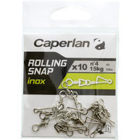 STAINLESS STEEL SWIVEL CLIP ROLLING SNAP