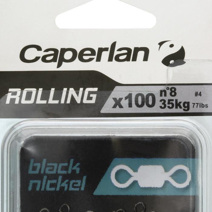 Wartels hengelsport rolling black nickel x100