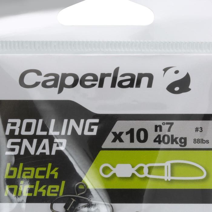 Speldconnector met wartel black nickel