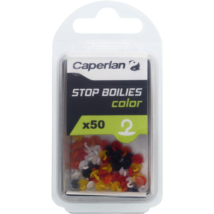 STOP BOUILLETTES PÊCHE DE LA CARPE COLOR - 1130417