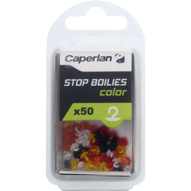 CARP RIGGING LINES ACCESSORIES Fishing - STOP BOILIES COLOUR CAPERLAN - Carp Fishing