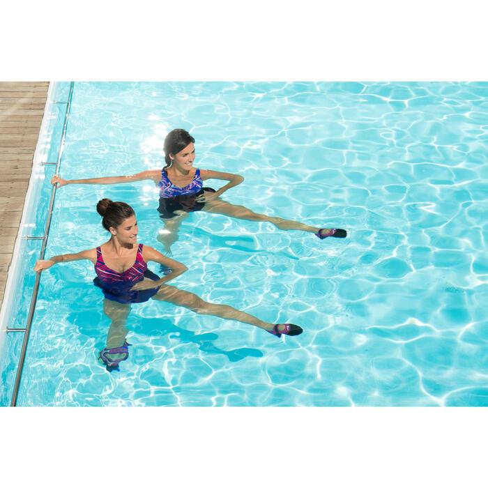 Chaussons d'aquabike aquaballerine noir rose - 1130473