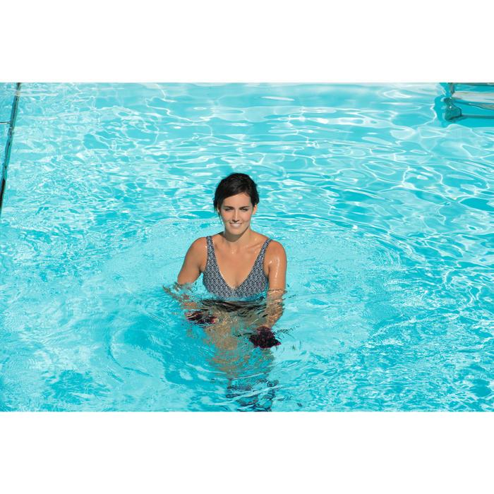 Maillot de bain d'aquagym femme une pièce Lori noir all ness - 1130475