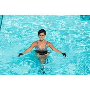Maillot de bain d'aquagym femme une pièce Lori noir all ness - 1130477