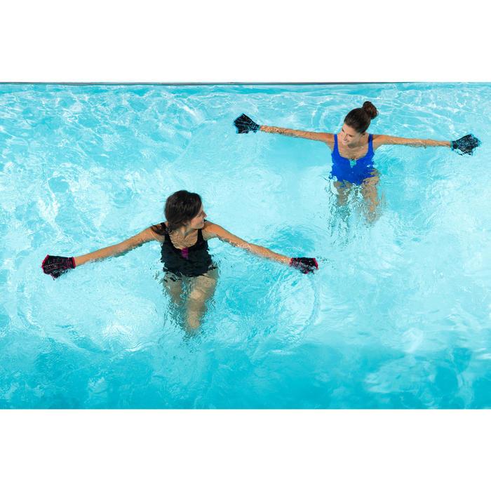 Aquahandschuhe Neopren Aquafitness schwarz