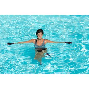 Maillot de bain d'aquagym femme une pièce Lori noir all ness - 1130488