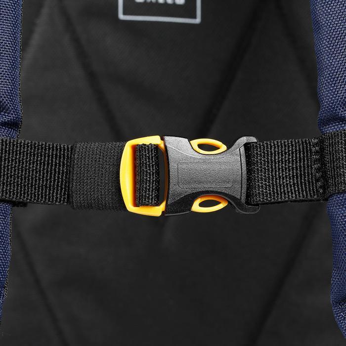 Sac de skate MID bleu jaune 23L