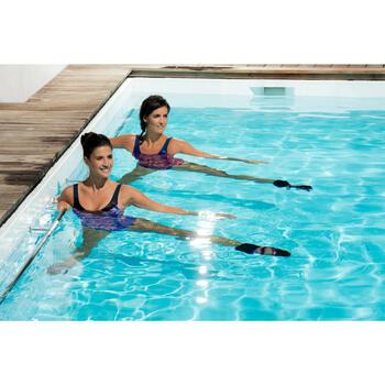 Bracelets lestés pour l'aquafitness Noir Rose - 1130490