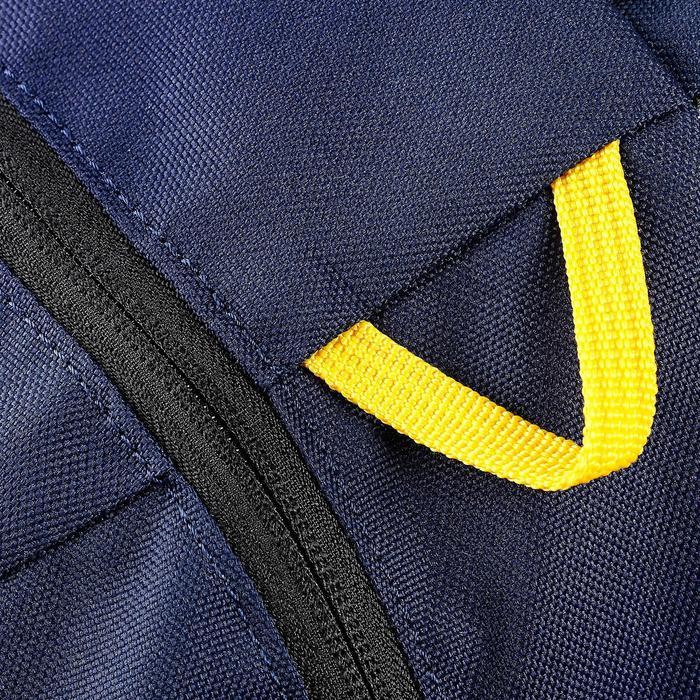 Mochila de skateboard MID azul amarillo 23 L