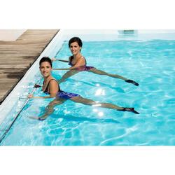 Verzwaarde polsbandjes voor aquafitness zwart/roze
