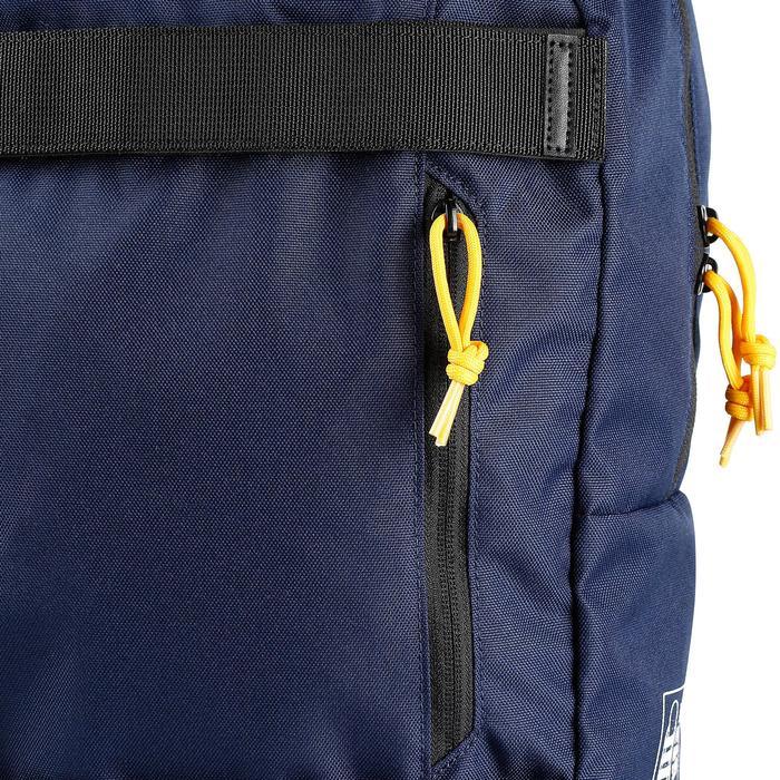 Skate rugzak Mid blauw/geel 23 l
