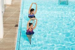 Aquagym badpak voor dames Lori skirt leav - 1130510