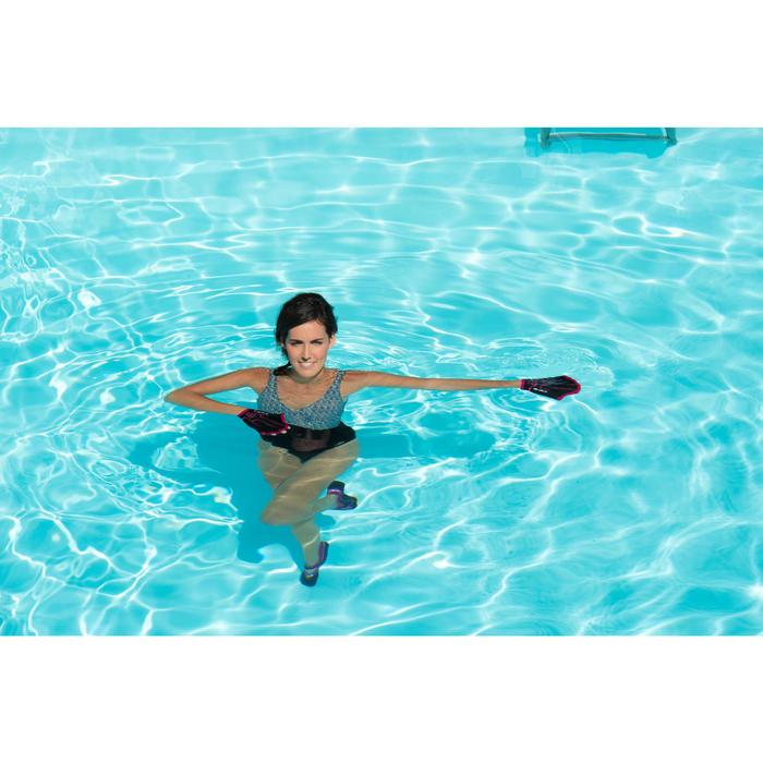 Maillot de bain d'aquagym femme une pièce Lori noir all ness - 1130515