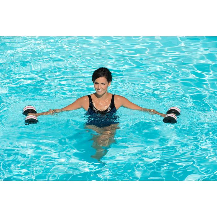 Badeanzug Aquagym figurformend Karli All Lace Damen blau