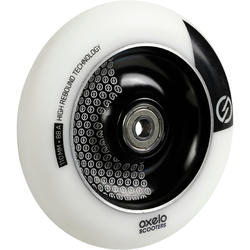 Freestyle Scooter Aluminium Wheel 110 mm - White/Black