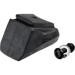 Set van 2 standaard remblokjes Rollerblade zwart