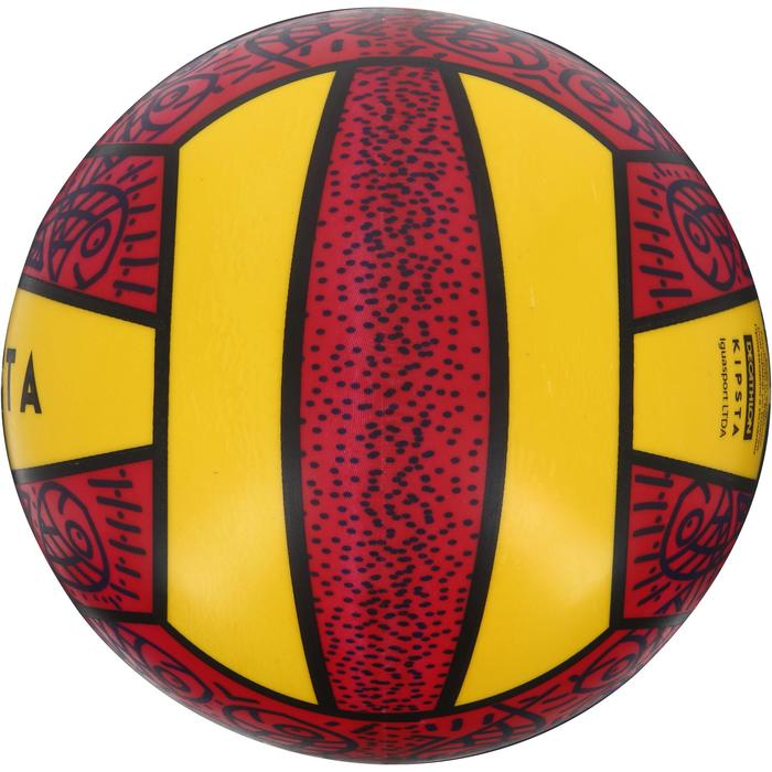 Ballon de beach-volley BV100 jaune et - 1130673