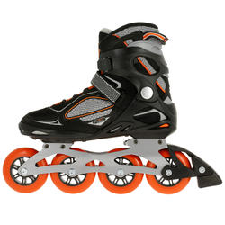 Fitness skates Primo LX 90 voor heren zwart/oranje - 11307