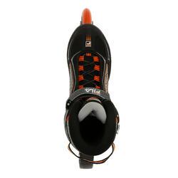 Fitness skates Primo LX 90 voor heren zwart/oranje - 11308