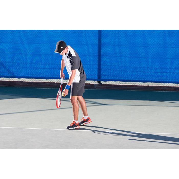 CHAUSSURES DE TENNIS HOMME TS990 NOIR ORANGE MULTI COURT