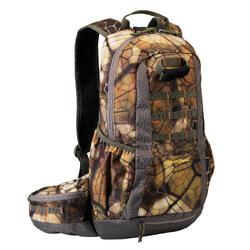 超輕量狩獵背包20 L X-ACCESS 2.0 FURTIV-棕色迷彩