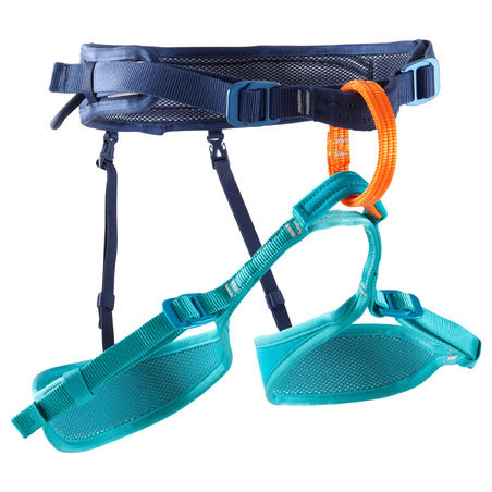 ROCK CLIMBING AND MOUNTAINEERING HARNESS - ROCK BLUE
