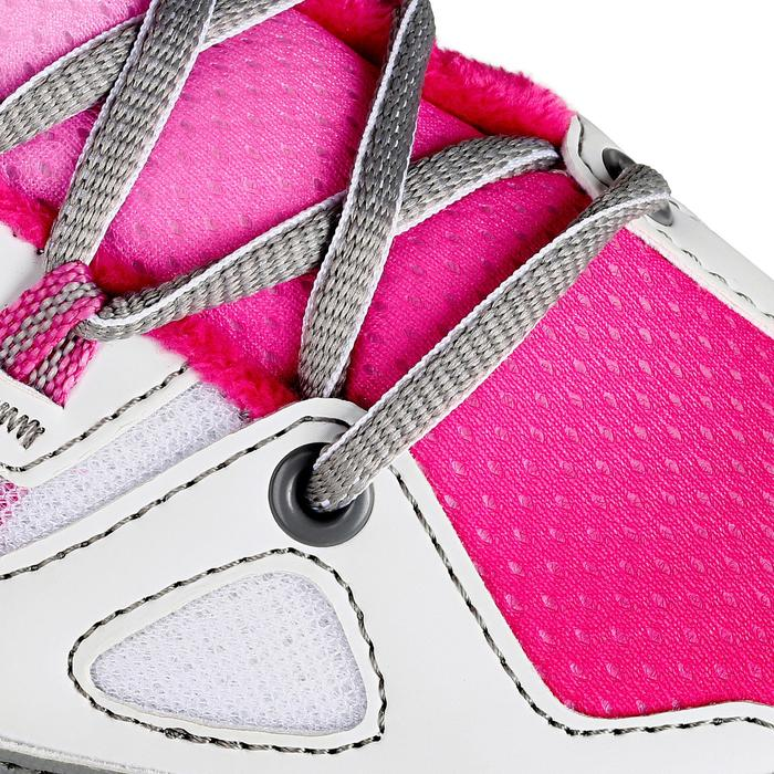Patin à glace enfant FIT 5 GIRL rose - 1130977