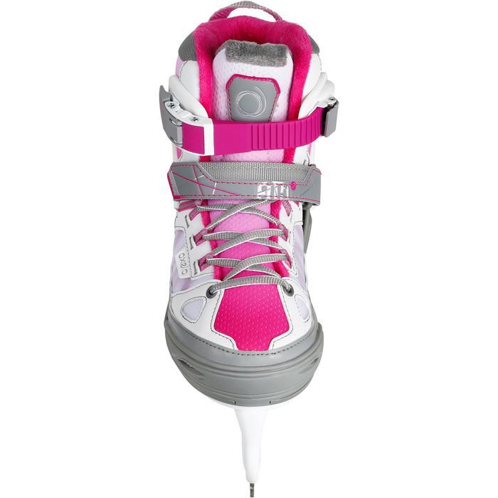 Patin à glace enfant FIT 5 GIRL rose - 1130980
