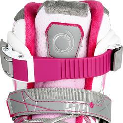 Schaatsen Fit 5 voor meisjes, roze - 1130982