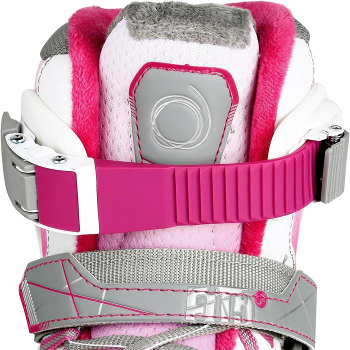 Patin à glace enfant FIT 5 GIRL rose - 1130982