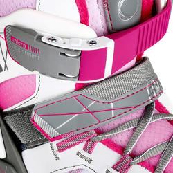 Schaatsen Fit 5 voor meisjes, roze - 1130988