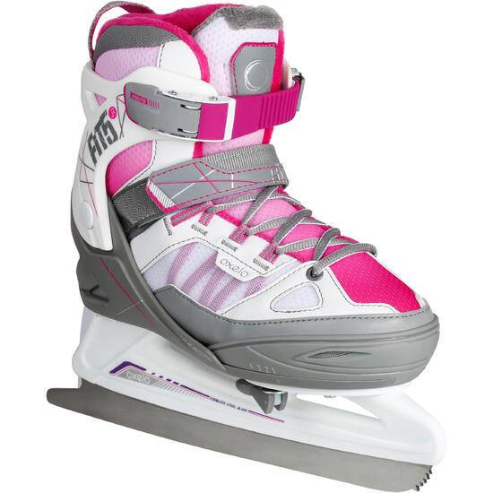 Schaatsen Fit 5 voor meisjes, roze - 1130991