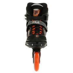 Fitness skates Primo LX 90 voor heren zwart/oranje - 11310