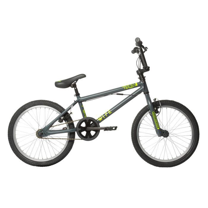 BMX ENFANT WIPE 300 GRIS - 113101