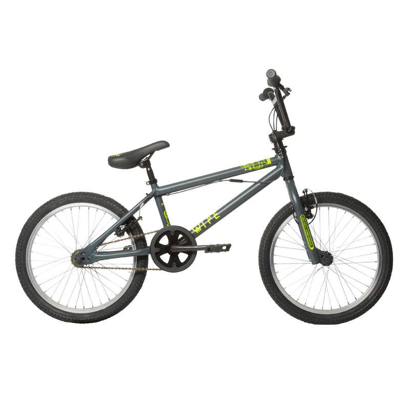 BMX / PLAY BİSİKLETLER Çocuk ve Bmx Bisikletleri - WIPE 300 BMX - GRİ  BTWIN - Çocuk ve Bmx Bisikletleri