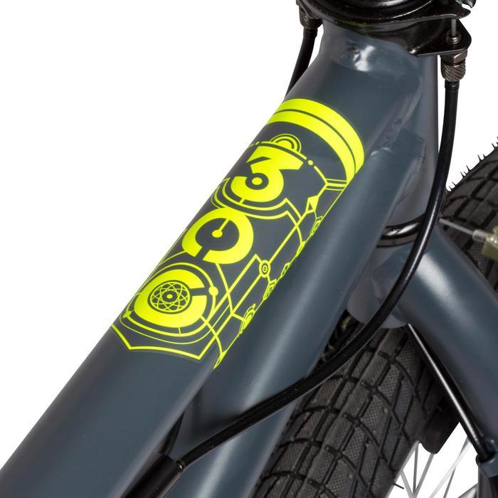 Kinder BMX Wipe 300 grijs - 113103