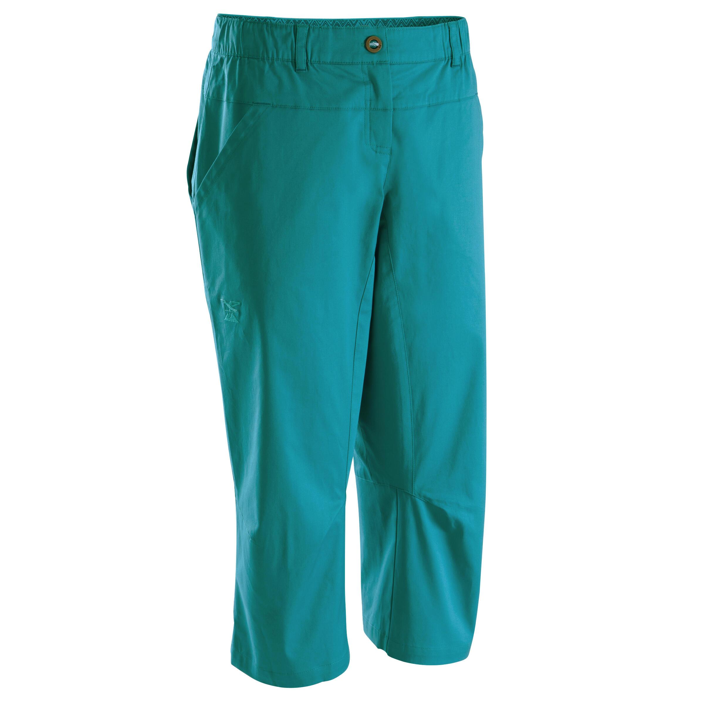 Simond Driekwartbroek Cliff voor dames turquoise
