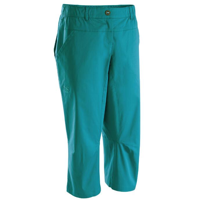 Driekwartbroek Cliff voor dames turquoise