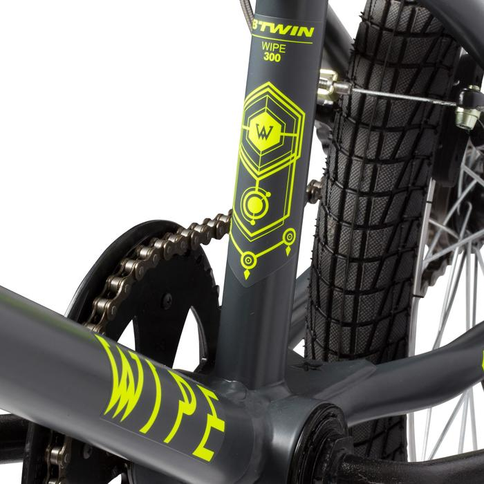 Kinder BMX Wipe 300 grijs - 113111