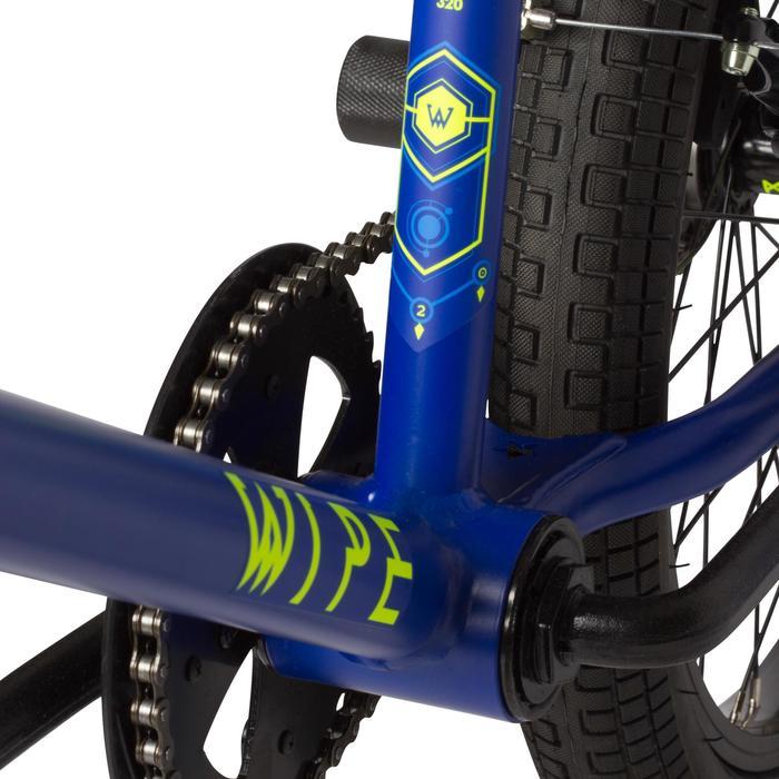 Kinder BMX Wipe 320 blauw