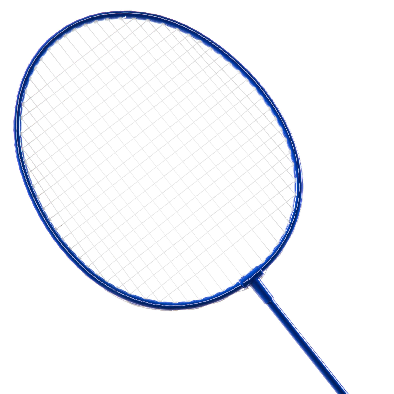 BR700 SET Adult Badminton Racket Set Discover- Blue/Red