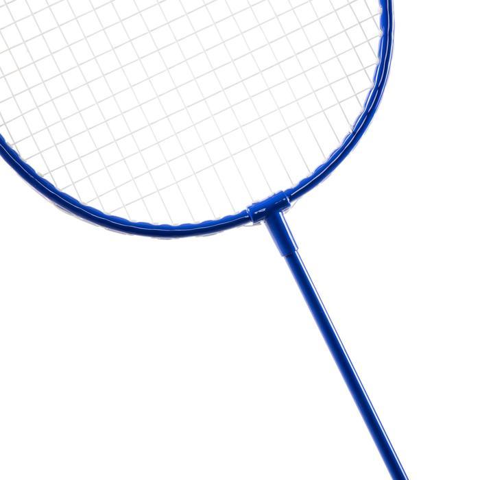 Badmintonset Dis blau/rot