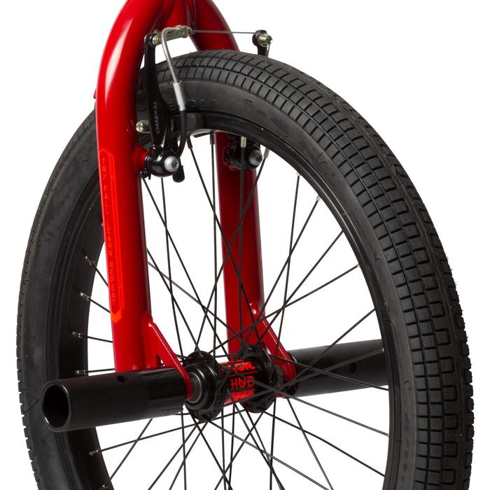BMX ENFANT WIPE 320 ROUGE