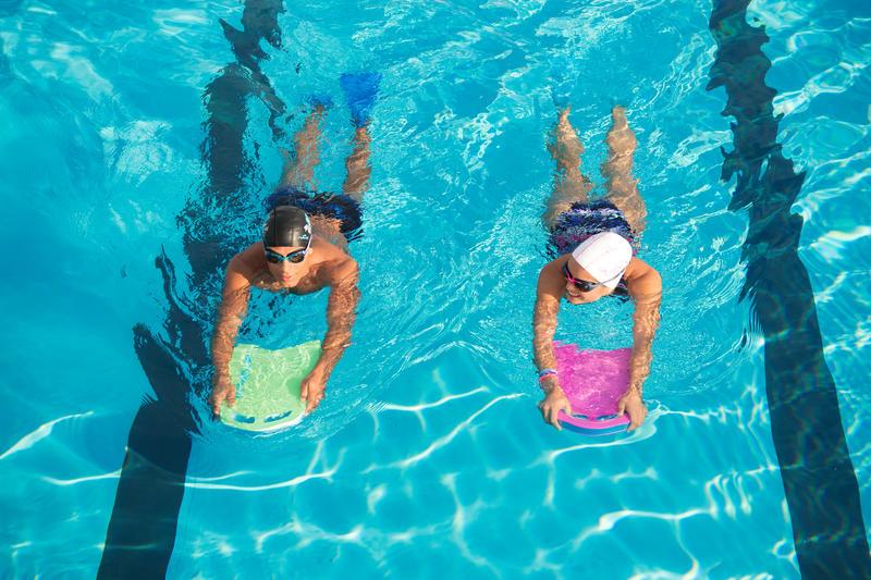 Phao ván tập bơi cỡ lớn - Xanh lá/ Xanh dương