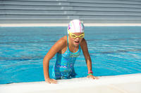 Lentes de natación XBASE EASY amarillos