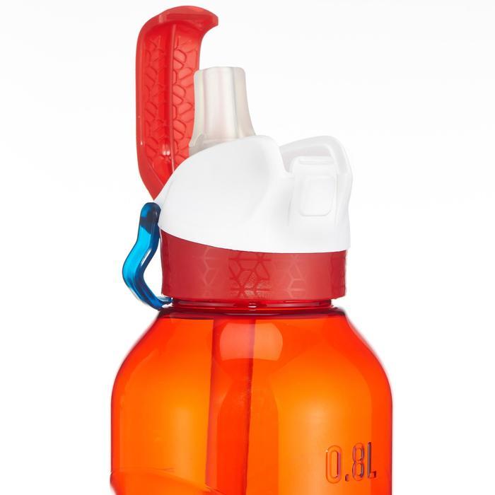 Drinkfles met sneldop en drinktuitje 0,5 liter 900 Tritan rood