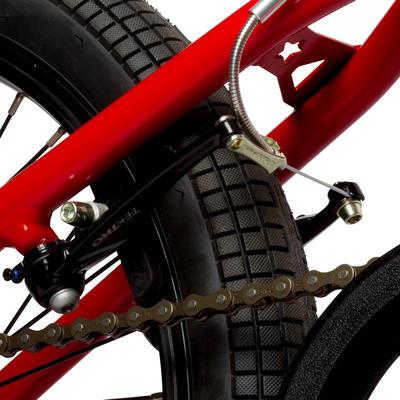 BICICLETA DE BMX WIPE 320 ROJO