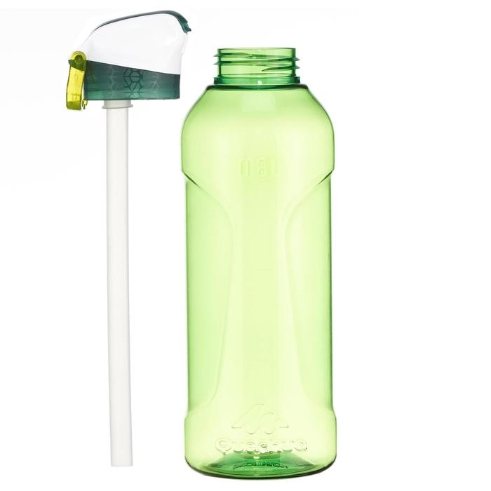 900 Tritan Plastic 0.8L Hiking Water Bottle with Instant Spout - Green