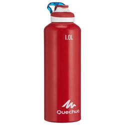 Drinkfles 500 voor wandelen drinkdop 1 liter aluminium